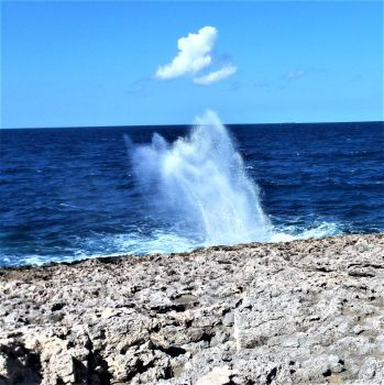 Blowhole at l-Aħrax tal-Mellieħa