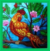 Pretty bird . . . . .
