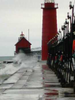 Grand Haven, MI lighthouse
