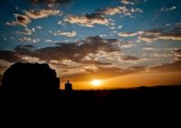 Afghanistan sunset - Army photo