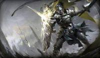 Warrior Knight in Battle (Large)