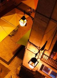 Lamp Lit Street