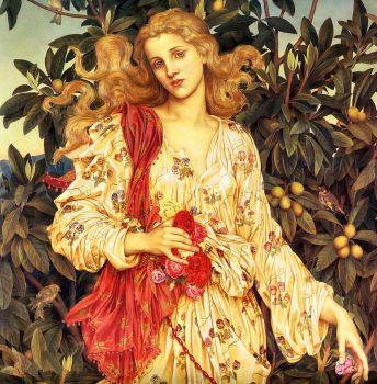 Flora - Evelyn de Morgan