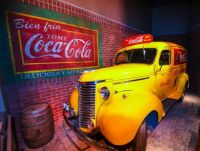 Exhibition at World of Coca-Cola Museum
