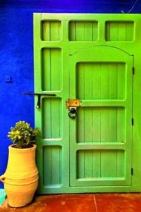 What's Behind The Green Door?
