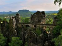 Germany  The Bastei Bridge