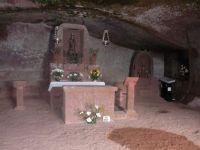 The cyclists chapel Artenara Gran Canaria