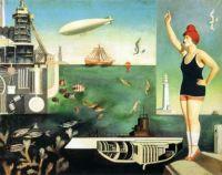 Harue Koga (1895-1933) - The Sea (La Mer), 1929