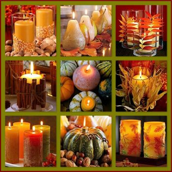 Fall Candles! (big)  Link to small below