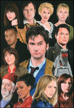 Doctor Who 10th companions