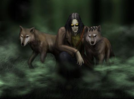 Wolves And The Werewolf