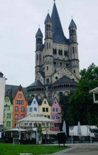 Great St. Martin Church, Cologne Germany