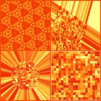 Orange collage (for the OFC!)