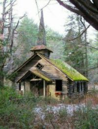 Old Abandoned Church  --  In The Adirondacks, Upstate New York....