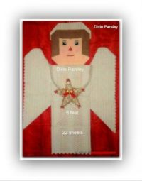 Plastic canvas Angel