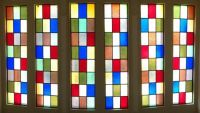 Stained glass window - easy
