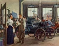 Capture the early days of automobiles