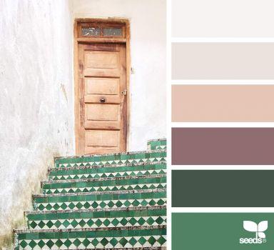 A door hues / Design Seeds