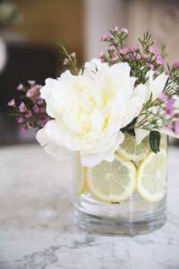 Citrus flower arrangement