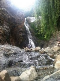 Moroccan Waterfall