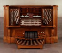 San Francisco Palace of the Legion of Honor E. M. Skinner organ console