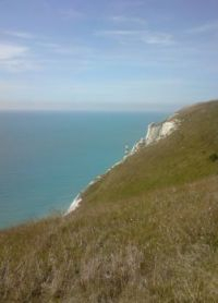 Beachy Head and the lighthouse