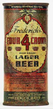 Four Crown Lager Beer - Lilek #287