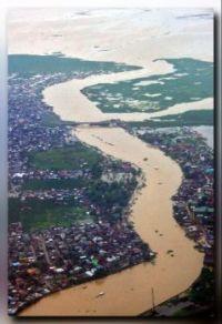 Flooded Metro Manila