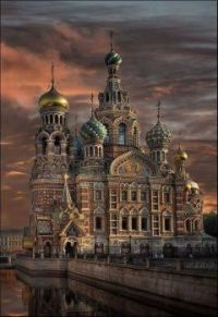 Spilled Blood Church, Russia.