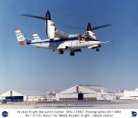 XV-15 Tilt Rotor Aircraft