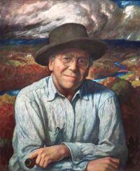 Self-Portrait, 1940, N. C. Wyeth (1882-1945)
