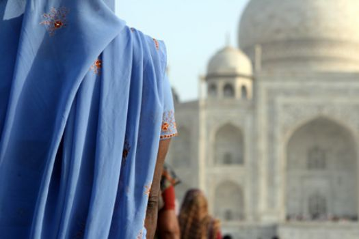Blue and... Taj Mahal