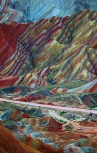 Zhangye Danxia Geopark, 'The Rainbow Mountains' China