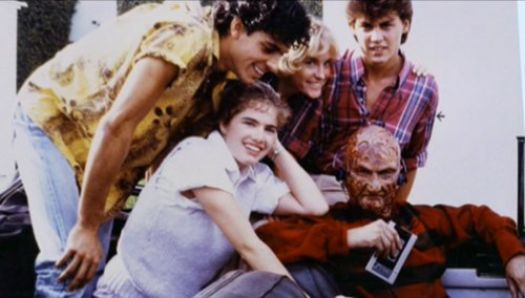 Behind The Scenes-Nightmare On Elm St.