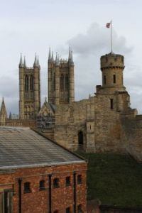 Lincoln Castle-Lincoln Cathedral
