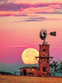Old Windmill -- Highlands Ranch, Colorado...