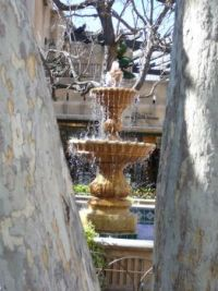 Fountain at Tlaquepaque, Sedona, AZ