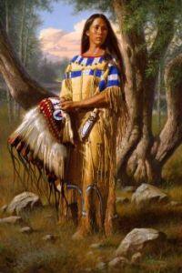 3  ~  'Choctaw Woman'