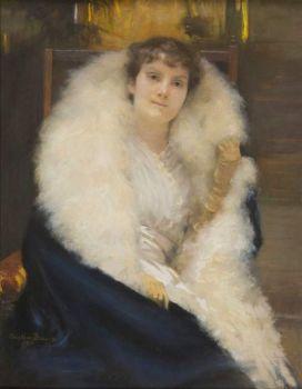 Cecilia Beaux  Ethel Page - 1890