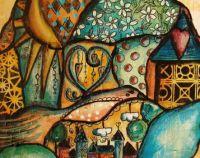 Colorful Village, medium