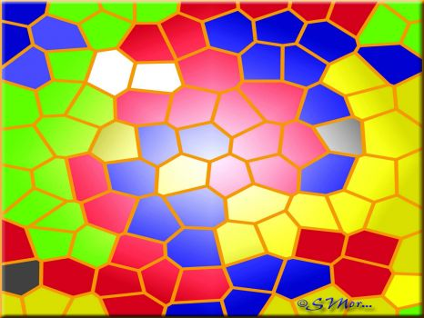 Stained Glass Mosaic The Sequel.... (XXXL)....