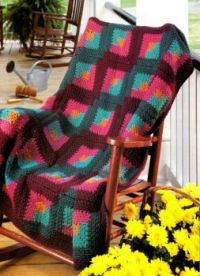 October Afternoon Crocheted Afghan