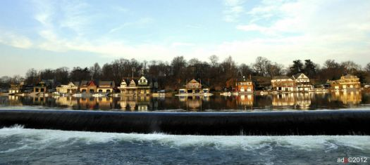 Boathouse Row by Andy Dinh Photography