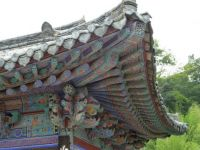 Donghwa temple in south Korea
