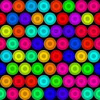 Colorful dot's  circle's