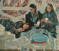 October painting by Olga Grigoriev-Klimova