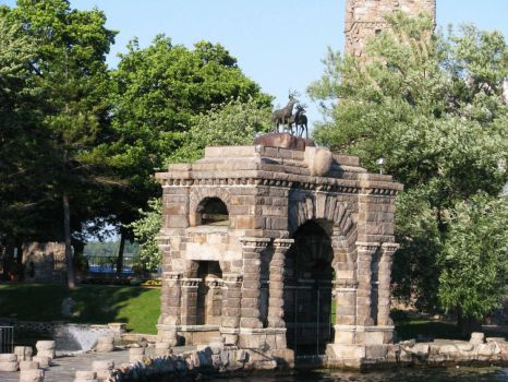 The Entry Arch of Boldt Castle