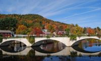 BRIDGE OF FLOWERS SHELBURNE FALLS,MA