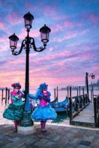 Venice Carnival at Sunrise