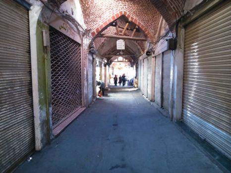 Bygone Tabriz bazar